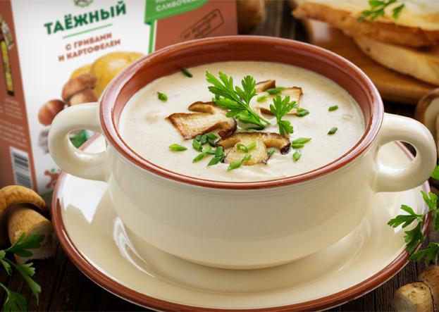 Крем суп таежный приготовление Дэльфа Арго