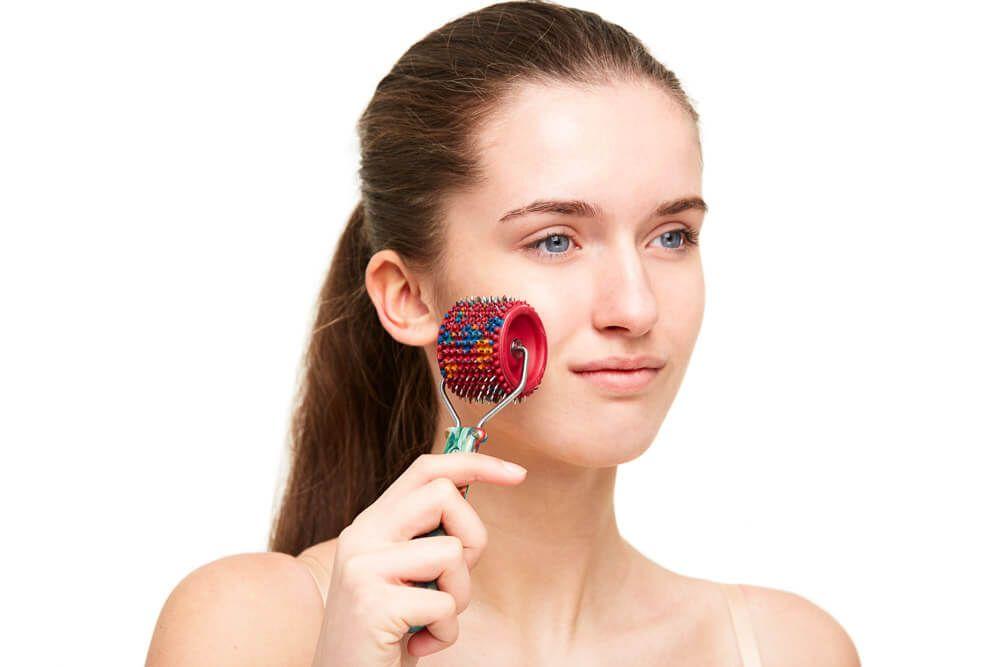 Валик лицевой применение