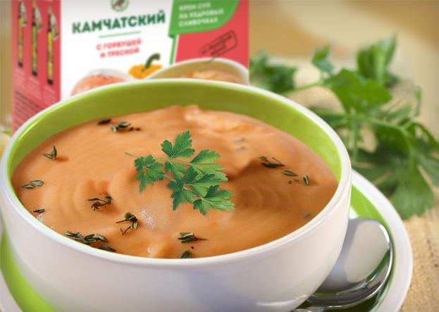 Суп камчатский приготовленный